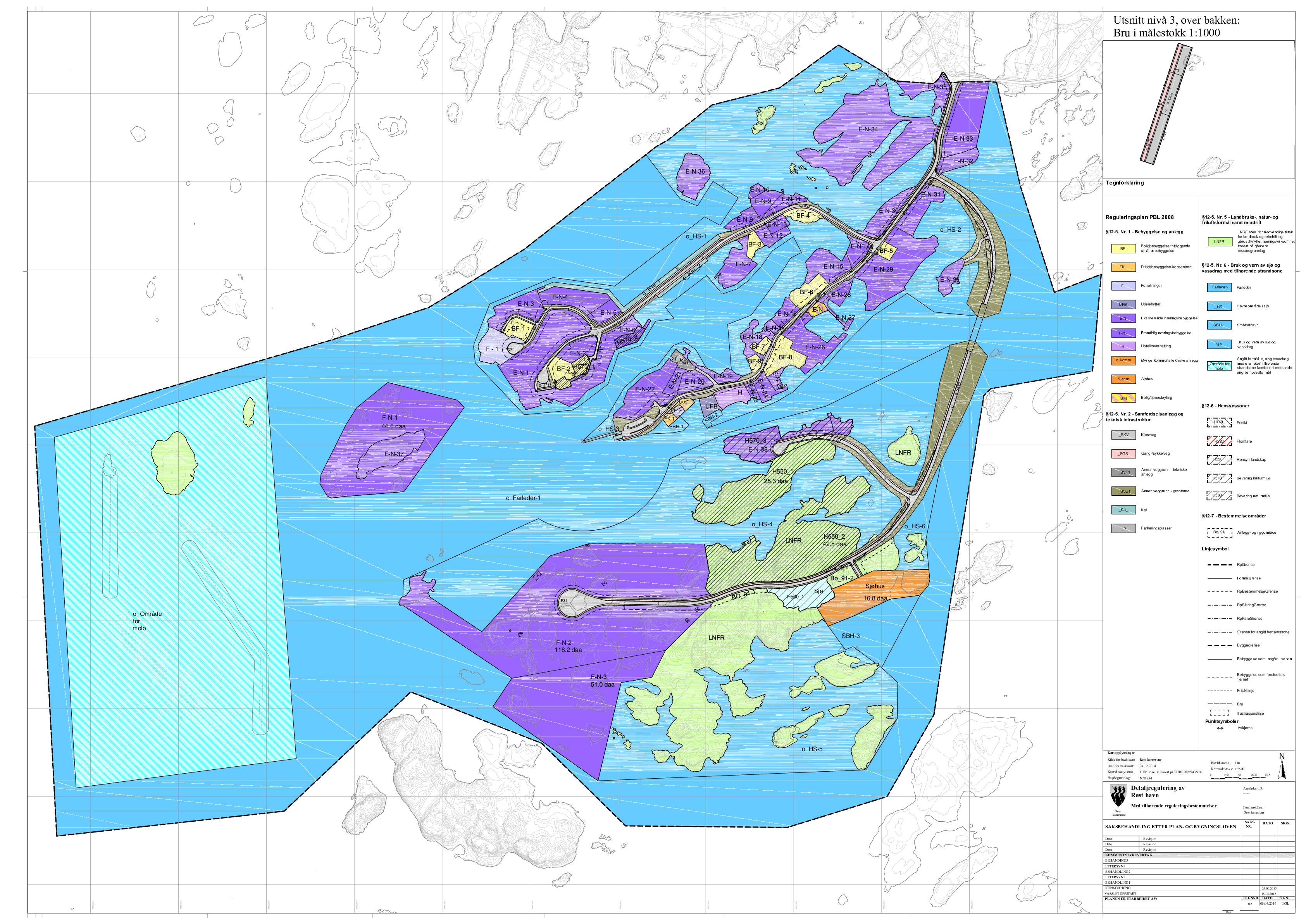 Reguleringskart Røst Havn