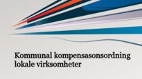 Kommunal kompensasjonsordning ny tildeling