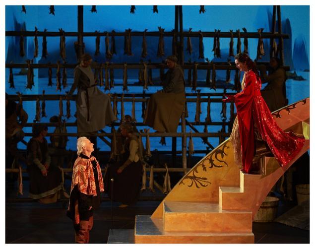 Scene fra Querinioperaen i 2012. Foto Annar Bjørgli
